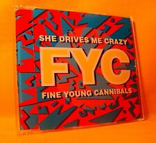 MAXI Single CD Fine Young Canibals (FYC) She Drives Me Crazy 3TR 1988 Synth-pop
