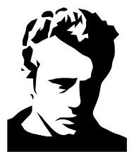 JAMES DEAN BOULEVARD OF BROKEN DREAMS 6X7 DECOR VINYL CAR WINDOW DECAL STICKER