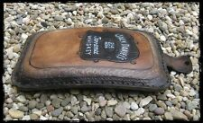 Selle pouf fait main passager marron Jack Daniel's Whiskey pour moto selle solo