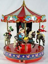 Disney Lighted & Animated Christmas Carousel Music Box, NIB-See VIDEO!