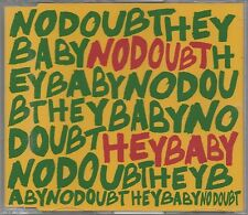 NO DOUBT -Hey Baby- Enhanced CD Single Gwen Stefani