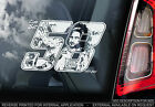 Marco Simoncelli - Moto GP Car Sticker - Ciao SIC#58 - PROCEEDS TO CHARITY -TYP3