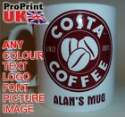 COSTA COFFEE Personalised Printed Name Mug Christmas Birthday Gift Idea Tea Cup