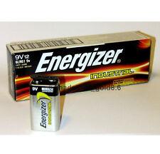 12 x 9 Volt (9V) Energizer Industrial Alkaline Batteries (EN22, 6LR61, 1604)