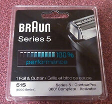 BRAUN 8000 ACTIVATOR 51S FOIL & CUTTER  BRAND NEW/IN SEALED PACKAGING