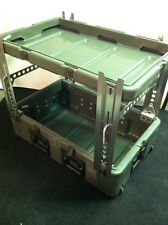 HARDIGG 33x21x13 Wheeled Medical Supply Chest #3 w/ New Leg Set Army