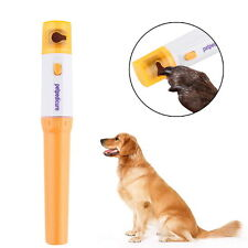 Pet Dog Cat Nail Claw Grooming Grinder Trimmer Clipper Electric Nail File SY