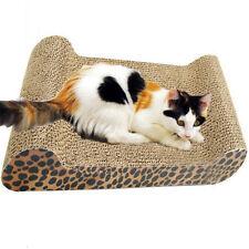 Sofa Design Cat Scratching Corrugated Board Scratcher Bed Pad Toy with Catnip