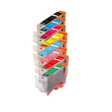 8 NEW Ink Cartridges + smart chip for Canon CLI-8 Pixma Pro9000 Mark II