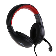 Stereo Headphone Headset with Microphone Mic For Phone PC Tablet Laptop NEW