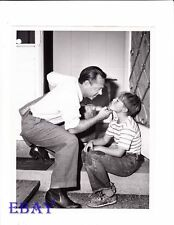 Mickey Rooney w/son Teddy VINTAGE Photo G.E. Theater Ep: The Money Driver