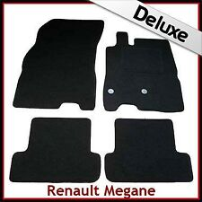 Renault Megane Mk3 Coupe 2008-2016 Tailored LUXURY 1300g Car Floor Mats BLACK