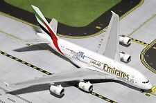 NEW Gemini Jets 1/400 GJUAE1528 Emirates Airbus A380-800 England Rugby World Cup