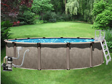 "18' x 52"" Above Ground Pool Complete Package   40 Yr Warranty   Regency"