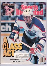 SPORTS ILLUSTRATED 5/30/1988 EDMONTON'S WAYNE GRETZKY A CLASS ACT ON THE COVER