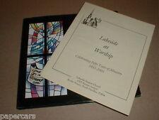 Lakeside Baptist Church Rocky Mount North Carolina NC 50 Year History SIGNED lot