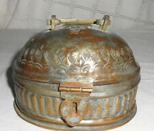 G.S. Egypt metal box, container