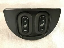 1997-2001 Jeep Cherokee XJ OEM Front Heated Seat Switches Pair Console Mounted