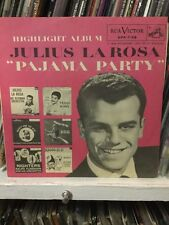 Julius La Rosa - Pajama Party Highlight Album RCA Promo NM