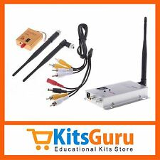FPV 1.2G Wireless 800mW Audio Video Transmitter & Receiver KG269