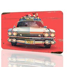 Metal Sign Ghostbusters Ecto 1 Special Poster Home Movie Classic Vintage Retro