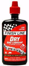 Finish Line Dry Teflon Bike Chain Lube / Lubricant All Condition - 4oz (120ml)