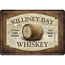 Nostalgic-Art - Blechpostkarte 10 x 14 cm - Killiney Bay Whiskey