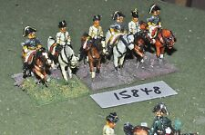 25mm napoleonic austrian generals 6 cavalry (15848) painted by mac warren