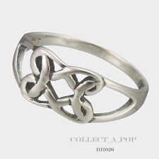 Authentic Kameleon Boudicca Silver Infinity Weave Ring Size 8  BR026