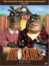 DINOSAURS - COMPLETE SEASON 3 & 4 (Jim Henson) -  DVD - REGION 1 - SEALED