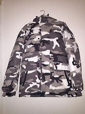 Supreme Downtown Down Parka Snow Camo Biggie Size Large