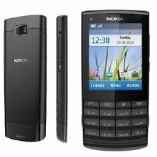 Nokia X3-02 Black Touch & Type Unlocked Mobile Phone Good Condition
