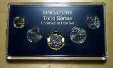 Singapore 2013 Third 3rd Series Coins Set in Original Plastic Case