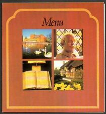 BRITISH AIRWAYS 1978 In-Flight Menu London to Bahrain, Abu Dhabi Wm. Shakespeare