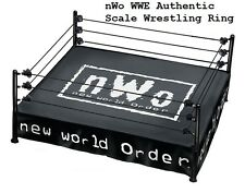 NEW WWE Authentic Elite Scale Ring with NWO Ring Skirt & Mat