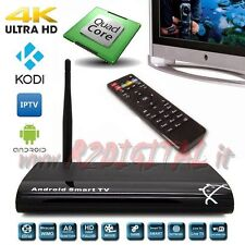 ANDROID BOX RK312X A9 UHD MEDIA PLAYER 4K FULL HD WIFI LAN TV SMART LETTORE MKV