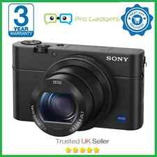Sony Cyber-shot DSC-RX100 IV 20.1MP 4K Digital Camera - 3 Year Warranty