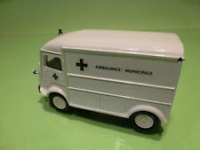 ELIGOR CITROEN H 1958 VAN - AMBULANCE MUNICIPALE - BROKEN WHITE 1:43 - GOOD COND