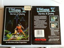 "ULTIMA V WARRIORS OF DESTINY - IBM PC game 5.25"" DISK."
