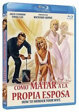HOW TO MURDER YOUR WIFE **Blu Ray B** Jack Lemmon, Virna Lisi,