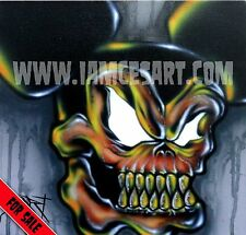 12x12 Mickey's Nightmare Airbrush Original Canvas Painting Disney iamcesart art