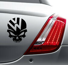 VW SKULL STICKER Car Bumper Van Window Laptop JDM VINYL DECALS STICKERS