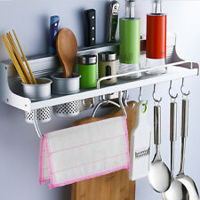 Steel Kitchen Storage Rack Organizer Condiment Jar Holder Rack Stand