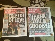 News of The World - Last Two Sunday Editions (3 & 10 July 2011)