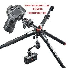 MANFROTTO MT190CXPRO3 fibre de carbone trépied avec rotation 360 + indicateur nivellement