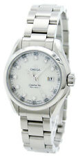 Omega 231.10.30.61.55.001 Seamaster Aqua Terra Diamond Women's Watch New in Box