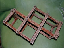 Vintage - Wood Folding Wine Rack - DESIGN IN WOOD  Made in INDIA NEEDS STAINED -