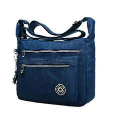 Womens Travel Tote Messenger Cross Body Handbag Ladies Shoulder Bag Waterproof
