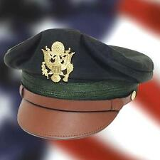 US WWII Army Officer's Crush Cap