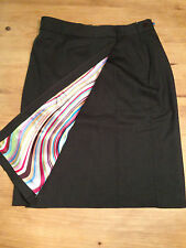 Used PAUL SMITH Black Label chocolate brown wool skirt. Euro Size 44. Excellent